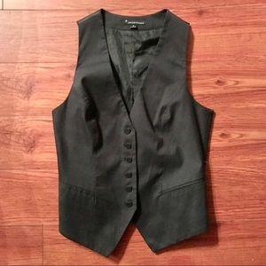 Forever21. Black stripe women's vest